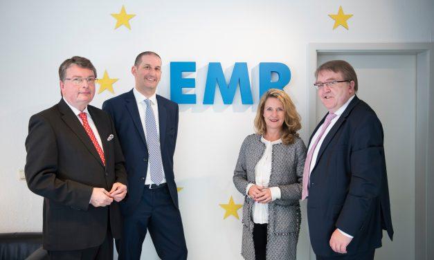Staatssekretarin Heike Raab zu Besuch beim EMR