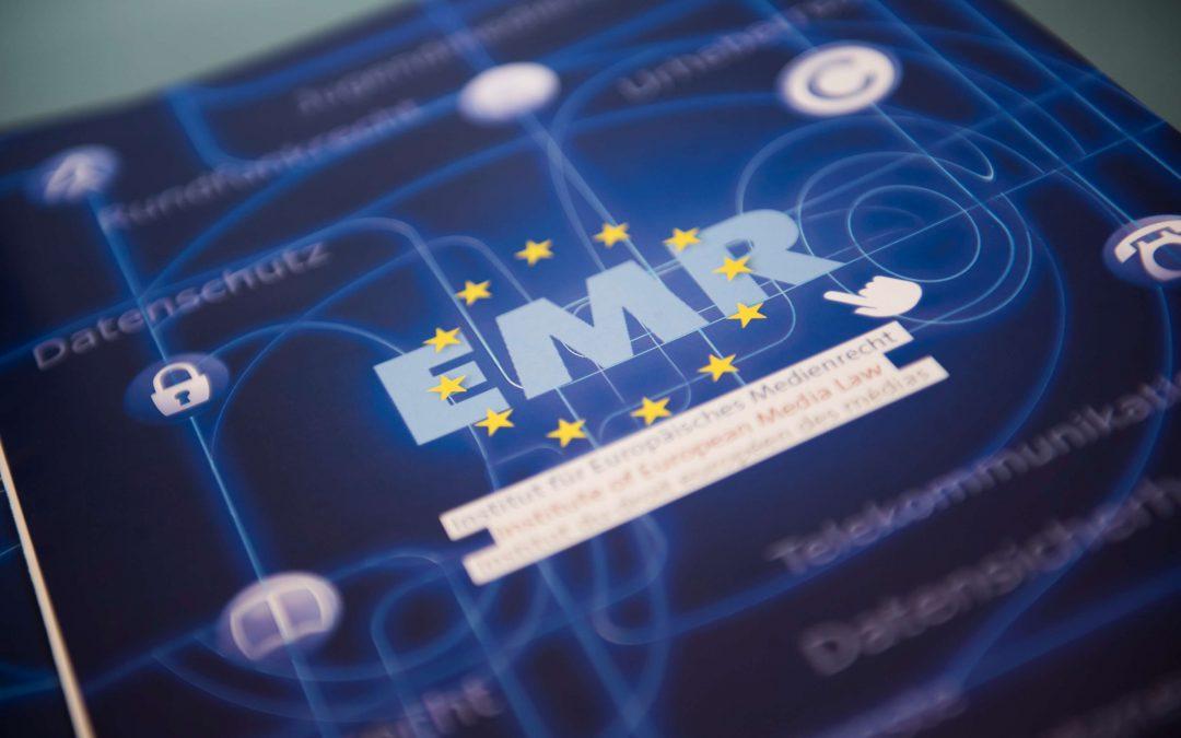 EMR Gutachten zur Neuregelung des Artikel 7b AVMD-Richtlinie veröffentlicht