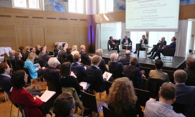 """09.04.18 – Tagungsbericht: Veranstaltung """"Finanzierung publizistischer Inhalte"""" in Kooperation mit ProSiebenSat.1 Media SE"""
