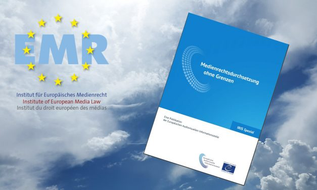 Europäische Audiovisuelle Informationsstelle veröffentlicht neuen Bericht über die Regulierung von Online-Mediendiensten
