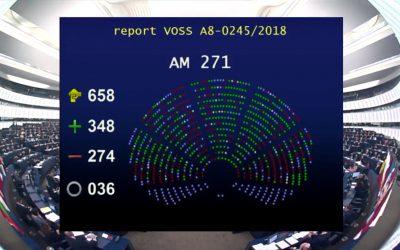 EU-Urheberrechtsreform: Parlament stimmt mit Mehrheit von 76 Stimmen zu