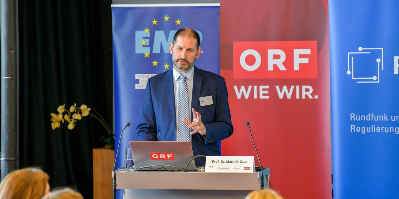 08.04.2019 – Rückblick: Veranstaltung «Europas digitaler Binnenmarkt und die Grundwerte der EU» in Kooperation mit ORF, KommAustria und RTR