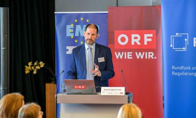 """08.04.2019 – Rückblick: Veranstaltung """"Europas digitaler Binnenmarkt und die Grundwerte der EU"""" in Kooperation mit ORF, KommAustria und RTR"""