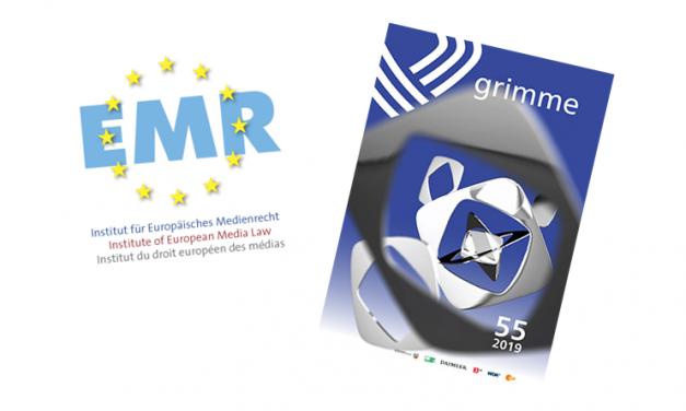 """EMR Beitrag in Grimme Preispublikation – """"Europäische Öffentlichkeit(en): Zwischen Einheit und Vielfalt"""""""