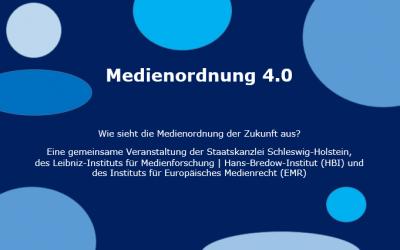 Rückblick auf die Veranstaltung Medienordnung 4.0