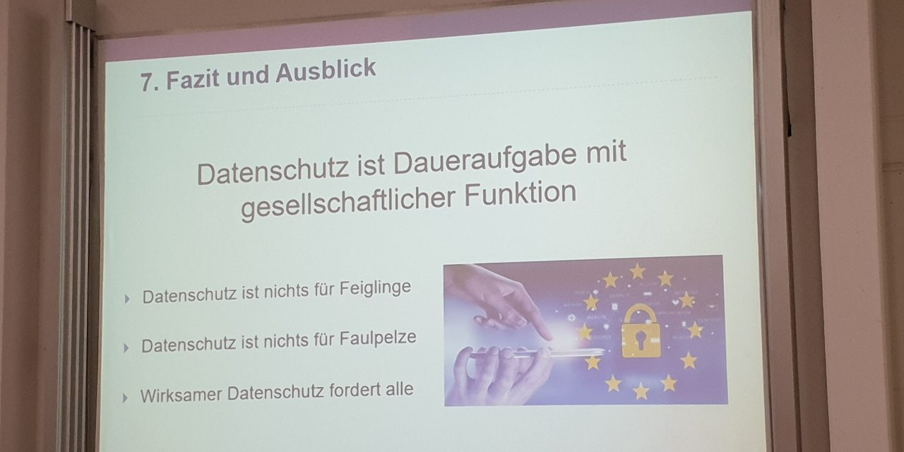 """IMK: Der Landesbeauftragte für den Datenschutz Rheinland-Pfalz zu """"Strukturfragen des Datenschutzes"""""""
