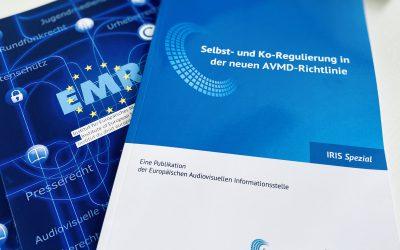 IRIS Spezial zu Selbst- und Ko-Regulierung in der neuen AVMD-Richtlinie veröffentlicht