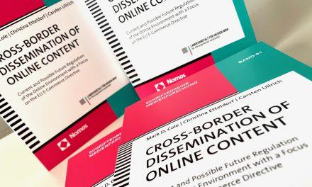 EMR Studie «Cross-Border Dissemination of Online Content» veröffentlicht
